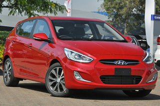 2014 Hyundai Accent RB3 SR Veloster Red 6 Speed Automatic Hatchback.