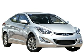 2014 Hyundai Elantra MD Series 2 (MD3) Trophy Sleek Silver 6 Speed Automatic Sedan.