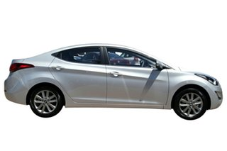 2014 Hyundai Elantra MD Series 2 (MD3) Trophy Sleek Silver 6 Speed Automatic Sedan