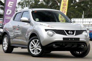 2014 Nissan Juke F15 TI-S (AWD) Platinum Continuous Variable Wagon.