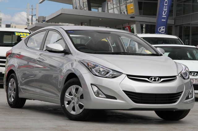 Demo Hyundai Elantra MD Series 2 (MD3) Active Albion, 2015 Hyundai Elantra MD Series 2 (MD3) Active Sleek Silver 6 Speed Automatic Sedan