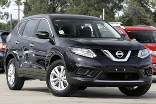 2014 Nissan X-Trail T32 ST (4x4) Diamond Black Continuous Variable Wagon.