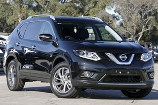 2015 Nissan X-Trail T32 TI (4x4) Diamond Black Continuous Variable Wagon.