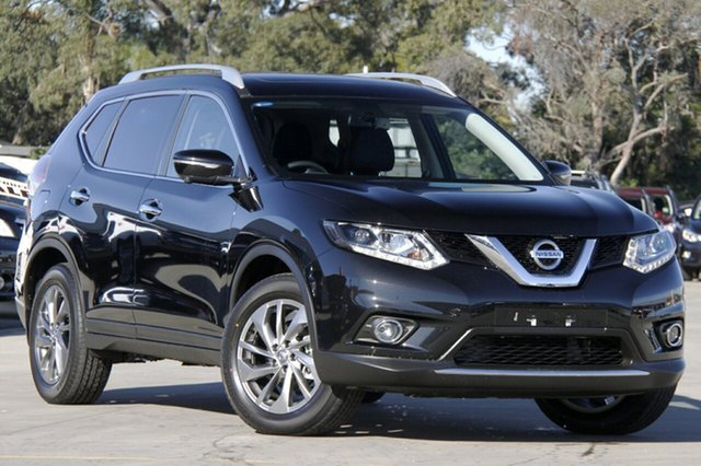 New Nissan X-Trail T32 TI (4x4), 2015 Nissan X-Trail T32 TI (4x4) Diamond Black Continuous Variable Wagon
