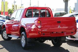 2015 Mitsubishi Triton MN MY15 GLX (4x4) Red 5 Speed Manual 4x4 Double Cab Utility