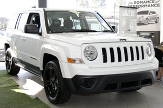 2015 Jeep Patriot MK MY15 Blackhawk Bright White Continuous Variable Wagon.