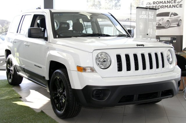 New Jeep Patriot MK MY15 Blackhawk, 2015 Jeep Patriot MK MY15 Blackhawk Bright White Continuous Variable Wagon