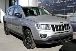 2015 Jeep Compass MK MY15 Blackhawk Billet Silver Continuous Variable Wagon.