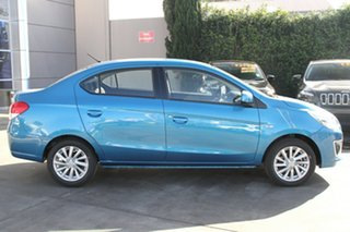 2015 Mitsubishi Mirage LA ES Cyber Blue Continuous Variable Sedan