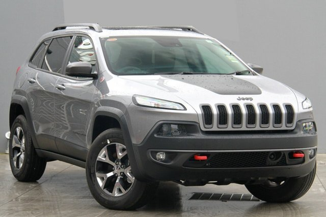 New Jeep Cherokee KL MY15 Trailhawk (4x4), 2015 Jeep Cherokee KL MY15 Trailhawk (4x4) Billet 9 Speed Automatic Wagon
