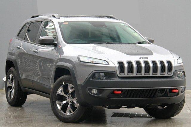 New Jeep Cherokee KL MY15 Trailhawk (4x4) Albion, 2015 Jeep Cherokee KL MY15 Trailhawk (4x4) Billet 9 Speed Automatic Wagon