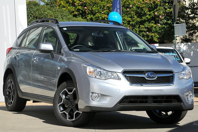 New Subaru XV MY14 2.0I-L, 2015 Subaru XV MY14 2.0I-L Ice Silver Continuous Variable Wagon