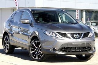 2014 Nissan Qashqai J11 TI Gun Metallic 6 Speed Manual Wagon.