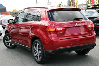 2015 Mitsubishi ASX XB MY15 XLS (4WD) Red 6 Speed Automatic Wagon