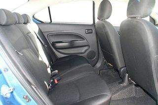 2015 Mitsubishi Mirage LA ES Cyber Blue Continuous Variable Sedan