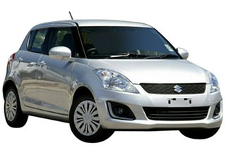 2015 Suzuki Swift FZ MY14 GL Navigator Silver 5 Speed Manual Hatchback.