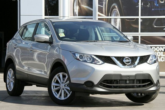New Nissan Qashqai J11 ST, 2014 Nissan Qashqai J11 ST Platinum Continuous Variable Wagon