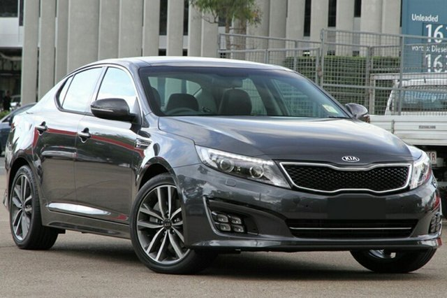 New Kia Optima TF MY15 Platinum, 2015 Kia Optima TF MY15 Platinum Platinum Graphite 6 Speed Automatic Sedan