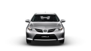 2014 Toyota Corolla ZRE182R Ascent Silver Pearl 6 Speed Manual Hatchback