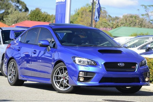 New Subaru WRX MY15 STI Premium (AWD) Albion, 2015 Subaru WRX MY15 STI Premium (AWD) WR Blue 6 Speed Manual Sedan