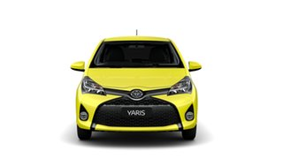 2014 Toyota Yaris NCP131R MY15 ZR Vivid Yellow 4 Speed Automatic Hatchback
