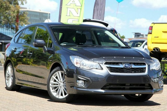 New Subaru Impreza MY14 2.0I-S (AWD), 2015 Subaru Impreza MY14 2.0I-S (AWD) Dark Grey Continuous Variable Hatchback
