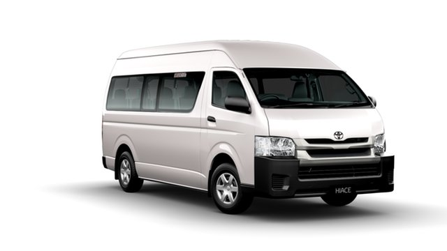 New Toyota HiAce TRH223R MY14 Commuter, 2014 Toyota HiAce TRH223R MY14 Commuter French Vanilla 4 Speed Automatic Bus