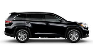 2015 Toyota Kluger GSU55R GXL (4x4) Eclipse Black 6 Speed Automatic Wagon.