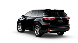 2015 Toyota Kluger GSU55R GXL (4x4) Eclipse Black 6 Speed Automatic Wagon
