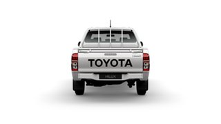 2014 Toyota Hilux TGN16R MY14 Workmate Glacier White 4 Speed Automatic Dual Cab Pick-up