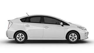 2014 Toyota Prius ZVW30R MY12 Hybrid Silver Pearl Continuous Variable Hatchback.