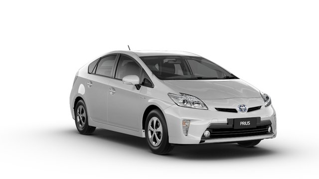New Toyota Prius ZVW30R MY12 Hybrid, 2014 Toyota Prius ZVW30R MY12 Hybrid Silver Pearl Continuous Variable Hatchback