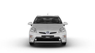 2014 Toyota Prius ZVW30R MY12 Hybrid Silver Pearl Continuous Variable Hatchback