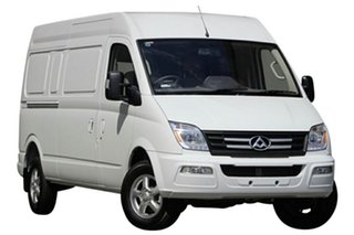 2020 LDV V80 MY19 Mid Roof LWB Blanc White 6 Speed Automated Manual Van.