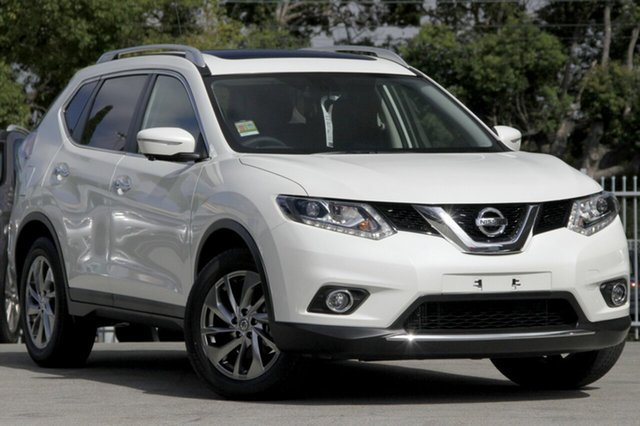 New Nissan X-Trail T32 TL (FWD), 2014 Nissan X-Trail T32 TL (FWD) Ivory Pearl Continuous Variable Wagon