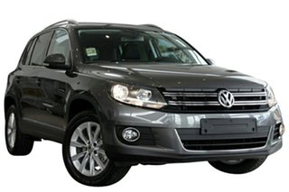 2015 Volkswagen Tiguan 5NC MY15 132 TSI (4x4) Pepper Grey 7 Speed Auto Direct Shift Wagon