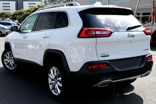 2017 Jeep Cherokee KL MY18 Limited Bright White 9 Speed Sports Automatic Wagon.