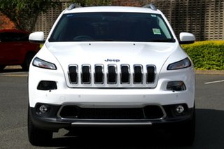 2017 Jeep Cherokee KL MY18 Limited Bright White 9 Speed Sports Automatic Wagon