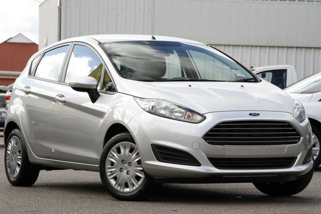 New Ford Fiesta WZ Ambiente PwrShift, 2017 Ford Fiesta WZ Ambiente PwrShift Ingot Silver 6 Speed Sports Automatic Dual Clutch Hatchback