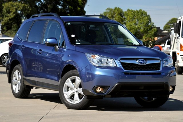 New Subaru Forester MY15 2.5I-L, 2015 Subaru Forester MY15 2.5I-L Quartz Blue Continuous Variable Wagon
