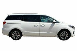 2018 Kia Carnival YP MY18 SLi Snow White Pearl 6 Speed Sports Automatic Wagon
