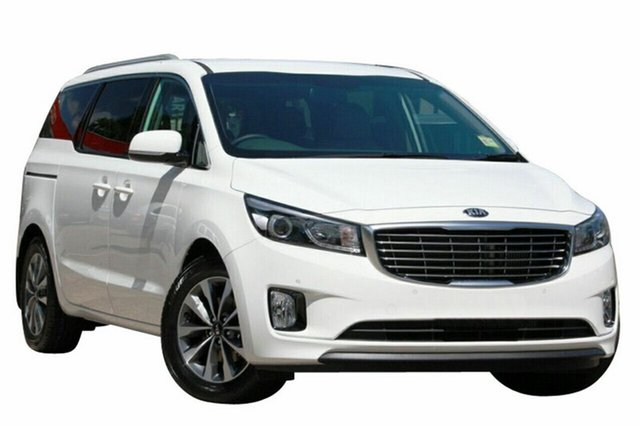 New Kia Carnival YP MY18 SLi, 2018 Kia Carnival YP MY18 SLi Snow White Pearl 6 Speed Sports Automatic Wagon