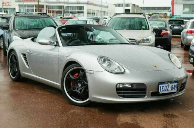 Used Porsche Boxster 987 MY07 S Albion, 2006 Porsche Boxster 987 MY07 S Silver 6 Speed Manual Convertible