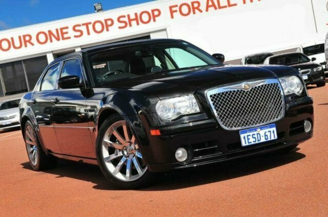 Used Chrysler 300C MY2006 SRT-8, 2006 Chrysler 300C MY2006 SRT-8 Black 5 Speed Sports Automatic Sedan