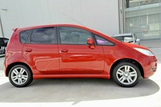 2011 Mitsubishi Colt RG MY11 VR-X Burgundy 5 Speed Manual Hatchback