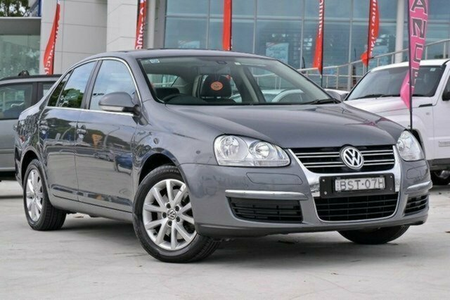 Used Volkswagen Jetta 1KM MY10 118TSI DSG, 2010 Volkswagen Jetta 1KM MY10 118TSI DSG Grey 7 Speed Sports Automatic Dual Clutch Sedan