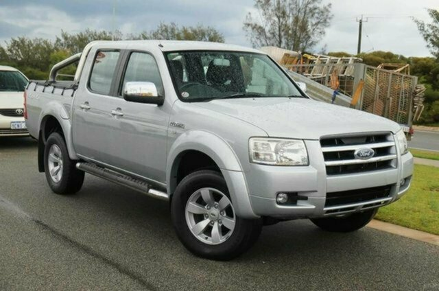 Used Ford Ranger PJ XLT (4x4), 2007 Ford Ranger PJ XLT (4x4) Silver Metallic 5 Speed Automatic Dual Cab Pick-up