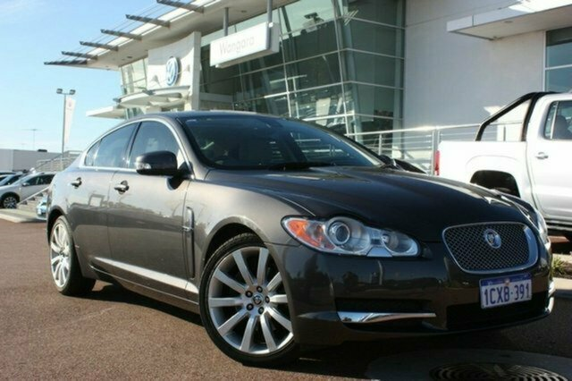 Used Jaguar XF X250 Luxury, 2008 Jaguar XF X250 Luxury Grey 6 Speed Sports Automatic Sedan