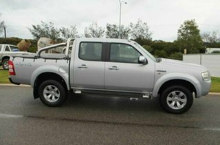2007 Ford Ranger PJ XLT (4x4) Silver Metallic 5 Speed Automatic Dual Cab Pick-up