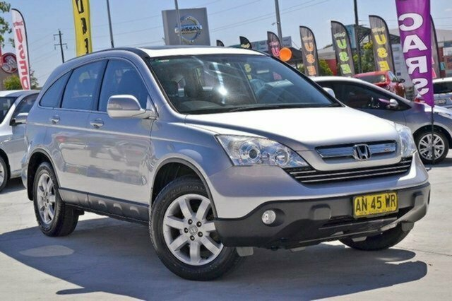Used Honda CR-V RE MY2007 Luxury 4WD Albion, 2007 Honda CR-V RE MY2007 Luxury 4WD Silver 5 Speed Automatic Wagon